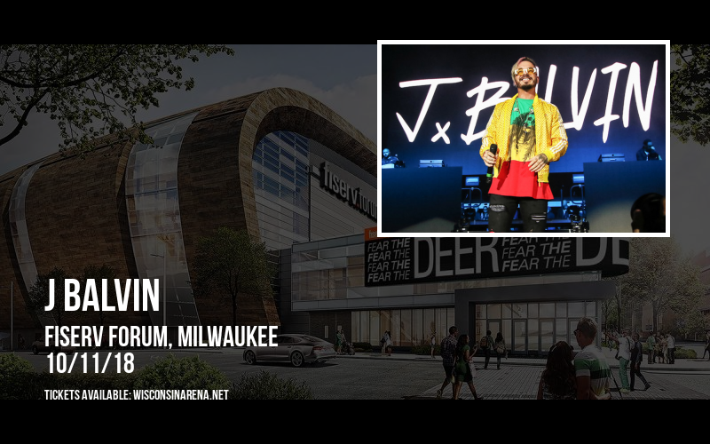 J Balvin at Fiserv Forum