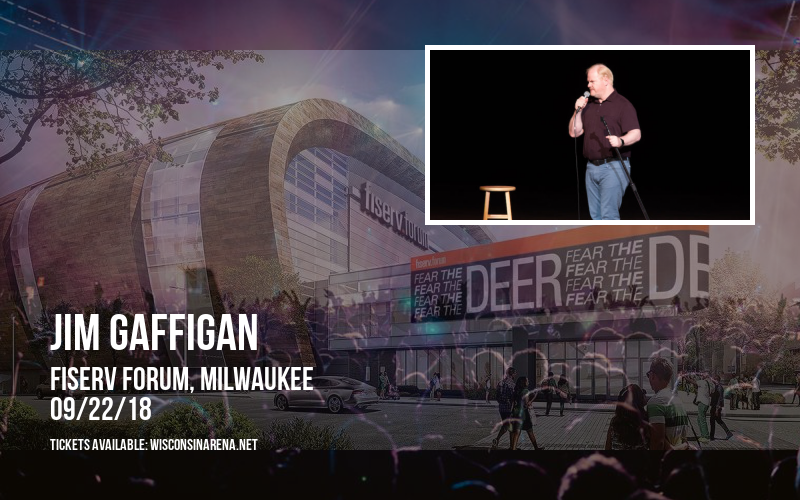 Jim Gaffigan at Fiserv Forum