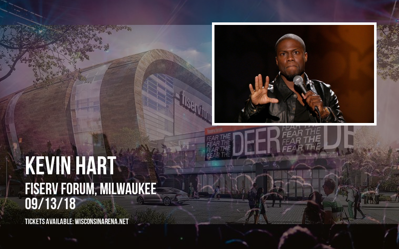Kevin Hart at Fiserv Forum