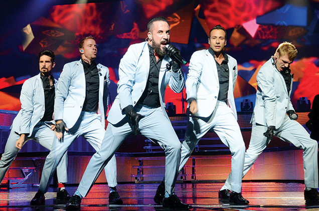 Backstreet Boys at Fiserv Forum