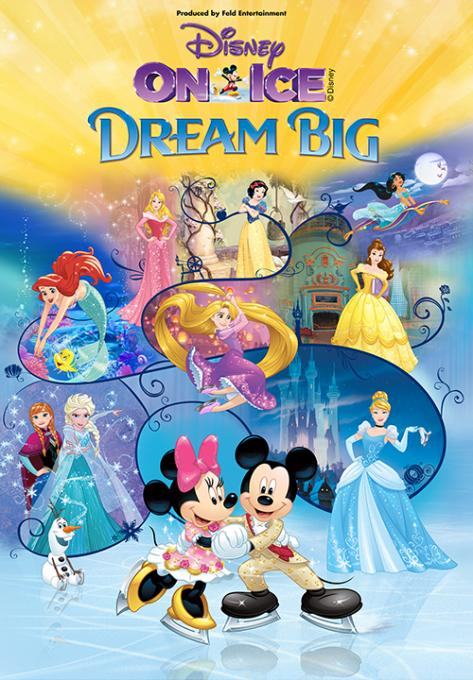 Disney On Ice: Dream Big at Fiserv Forum
