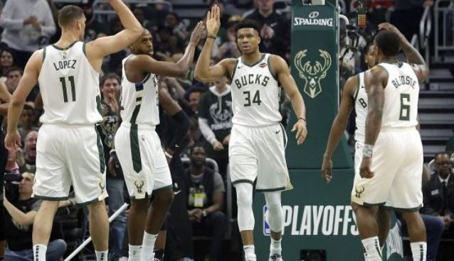 NBA Eastern Conference First Round: Milwaukee Bucks vs. TBD - Home Game 3 (Date: TBD - If Necessary) at Fiserv Forum