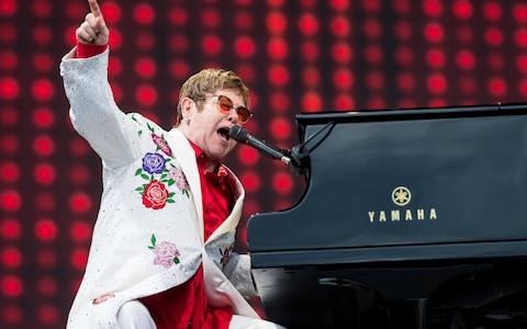 Elton John at Fiserv Forum