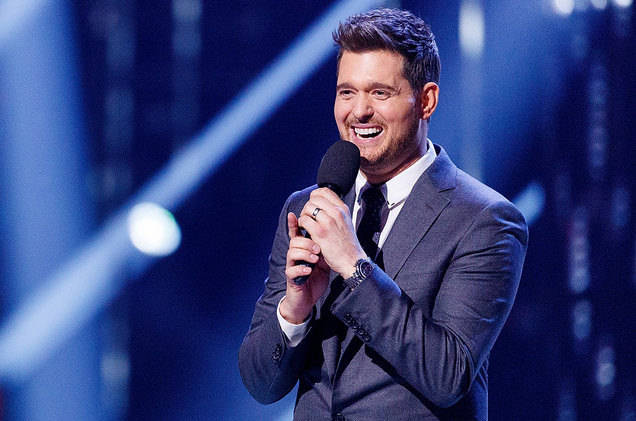 Michael Buble at Fiserv Forum