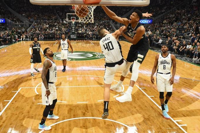 NBA Eastern Conference First Round: Milwaukee Bucks vs. TBD - Home Game 2 (Date: TBD - If Necessary) [CANCELLED] at Fiserv Forum