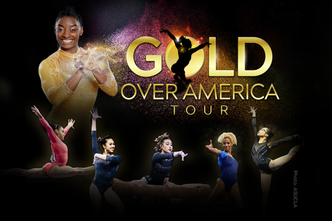 Gold Over America Tour: Simone Biles at Fiserv Forum