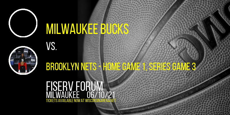 NBA Eastern Conference Semifinals: Milwaukee Bucks vs. TBD - Home Game 1 (Date: TBD - If Necessary) at Fiserv Forum