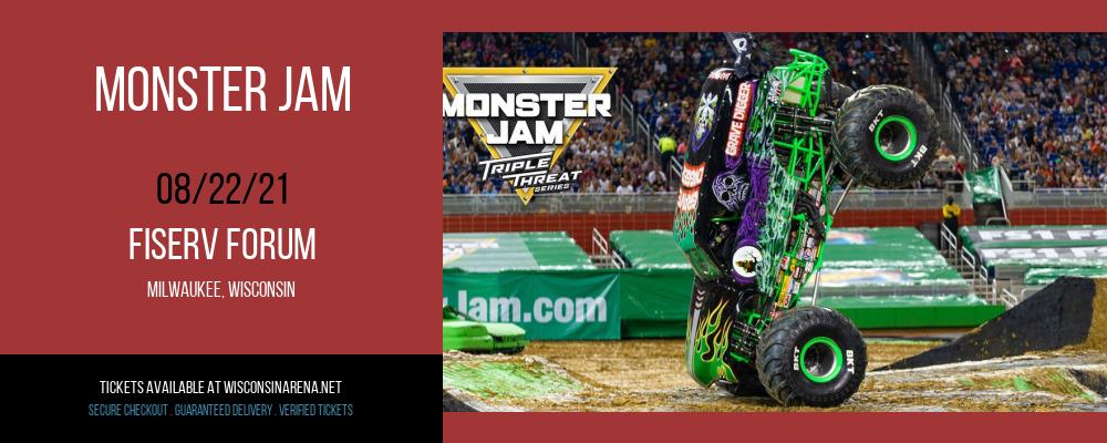 Monster Jam at Fiserv Forum