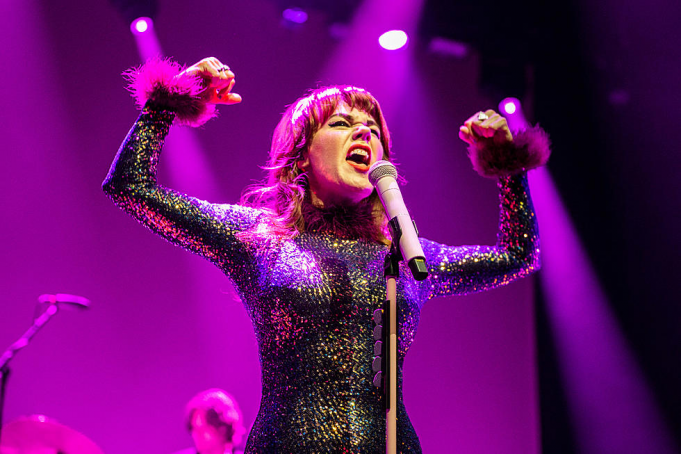 Harry Styles & Jenny Lewis at Fiserv Forum