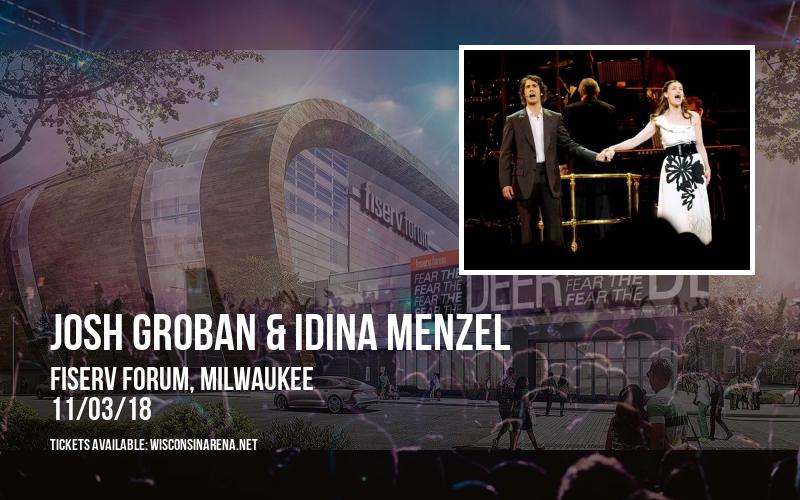 Josh Groban & Idina Menzel at Fiserv Forum
