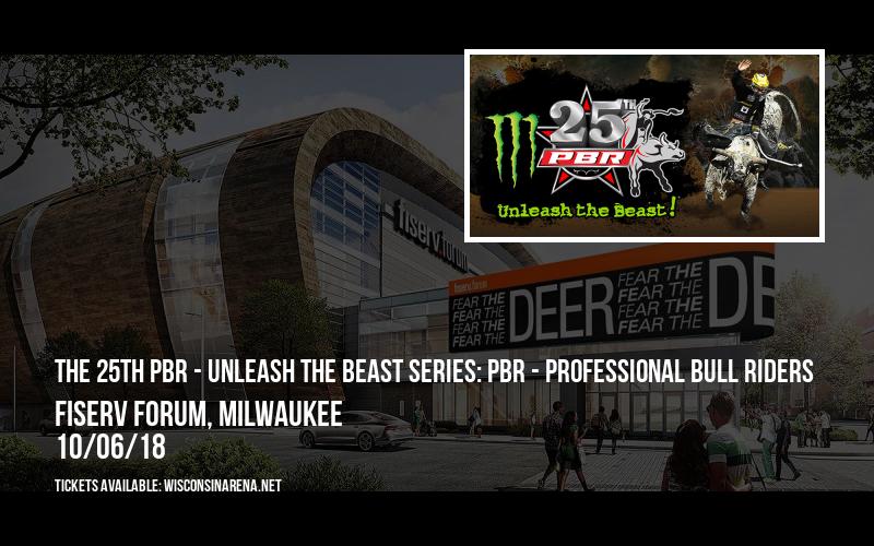 The 25th PBR - Unleash The Beast Series: PBR - Professional Bull Riders at Fiserv Forum