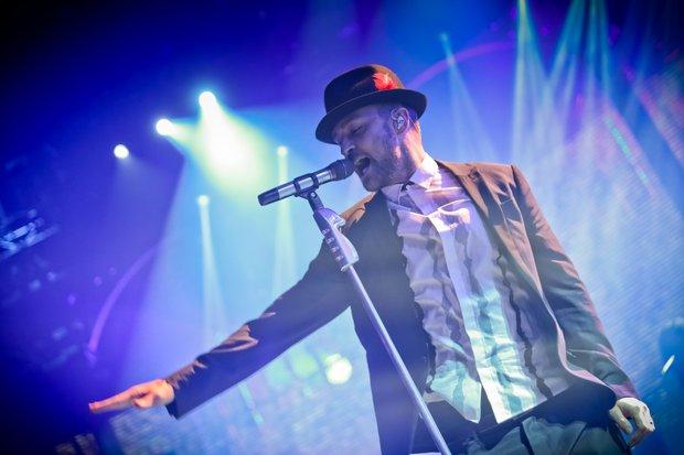 Justin Timberlake at Fiserv Forum