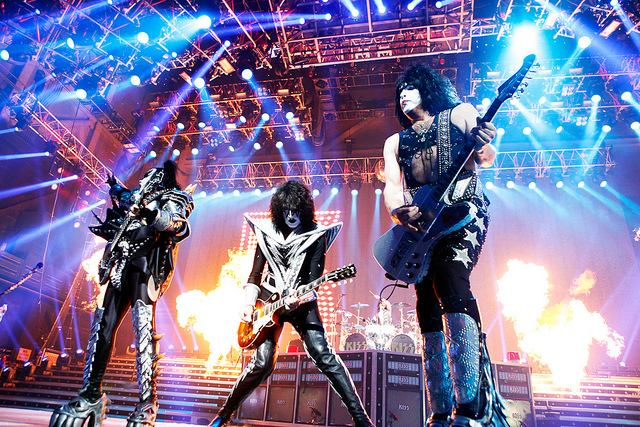 Kiss at Fiserv Forum