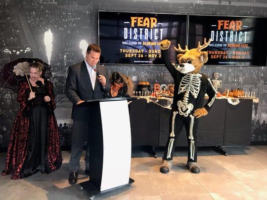 Fear District at Fiserv Forum