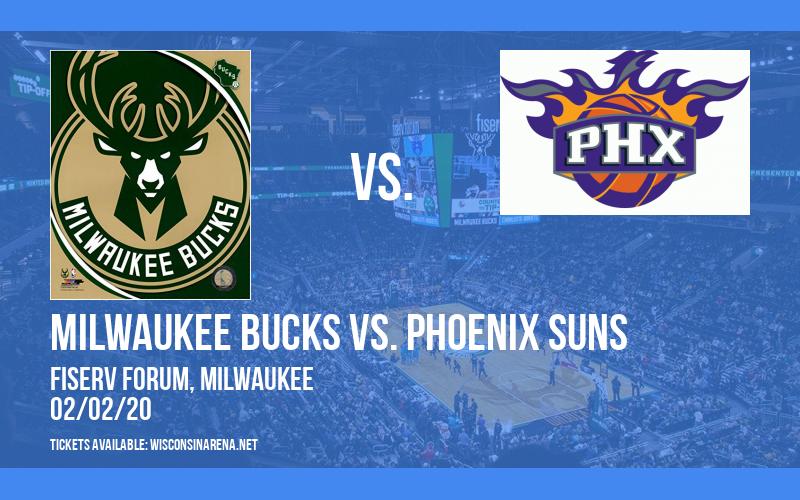 Milwaukee Bucks vs. Phoenix Suns at Fiserv Forum