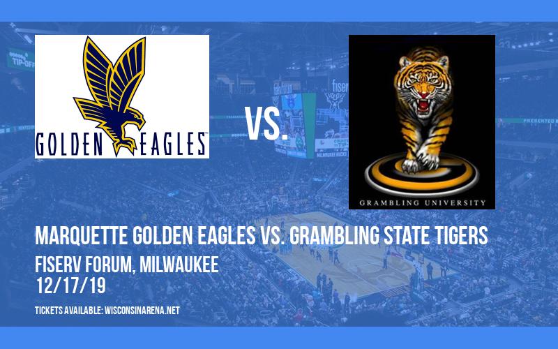 Marquette Golden Eagles vs. Grambling State Tigers at Fiserv Forum