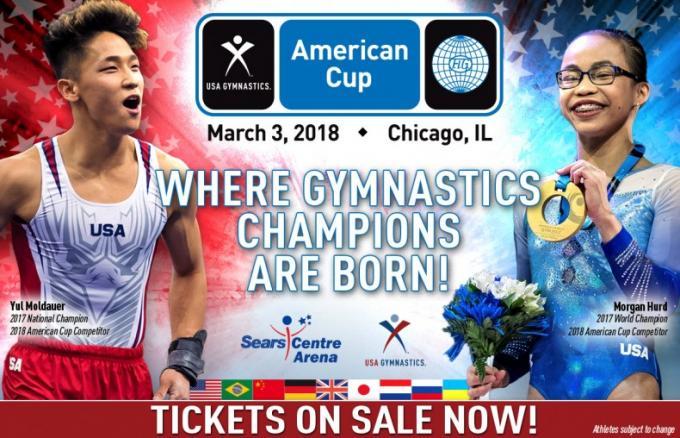 American Cup Gymnastics: Mens American Cup at Fiserv Forum