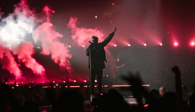 The Weeknd at Fiserv Forum